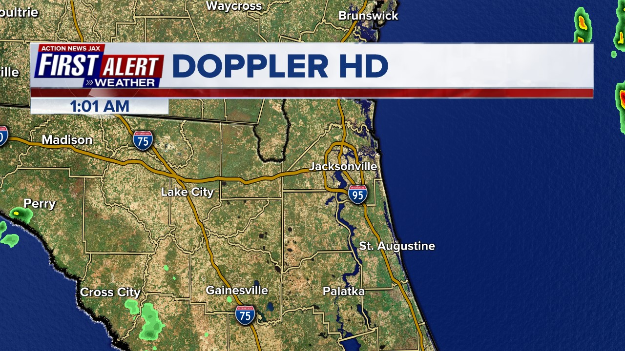 First Alert Doppler - Northeast Florida