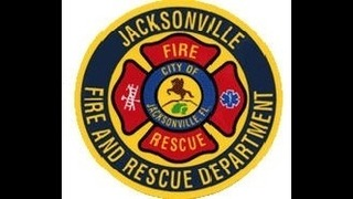 Jacksonville firefighters responding to fire at apartment complex on the…