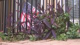 Flag display at center of HOA fight - (4/9)