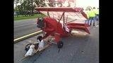 Small airplane separates from trailer on I-10 - (4/7)