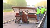 Small airplane separates from trailer on I-10 - (3/7)