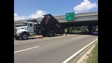 Truck hits overpass at Emerson & I-95 - (4/9)