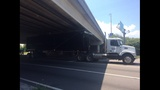 Truck hits overpass at Emerson & I-95 - (8/9)