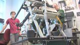 SWAT robot repaired by UNF students - (1/16)