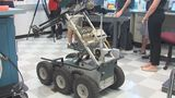 SWAT robot repaired by UNF students - (11/16)