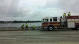 Gallery: Truck goes off Buckman Bridge - (5/25)
