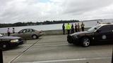 Gallery: Truck goes off Buckman Bridge - (18/25)