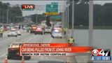 Gallery: Truck goes off Buckman Bridge - (19/25)