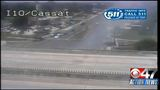 FHP_ NB Cassat Avenue closed at I-10 due to car fire_5774619