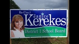 Gallery: Campaign signs vandalized in Clay County - (2/4)