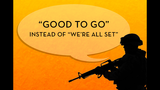 Gallery: Top 20 military phrases used by… - (14/20)