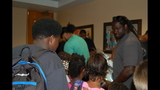 Gallery: Jaguars host book bag, school supply… - (11/25)