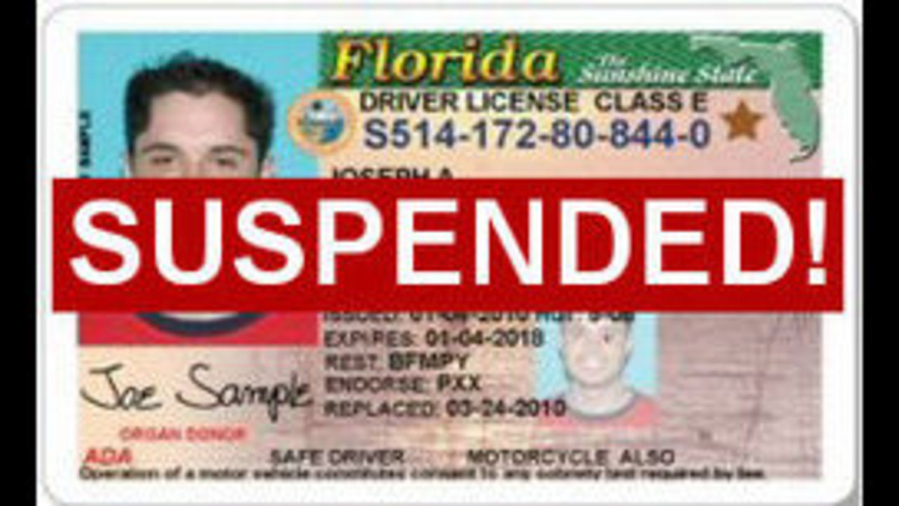 drivers license suspension for child support florida