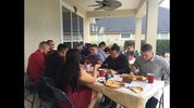 An Orange Park mom hosted Thanksgiving for a group of Marines who couldn't make it home for the holiday.
