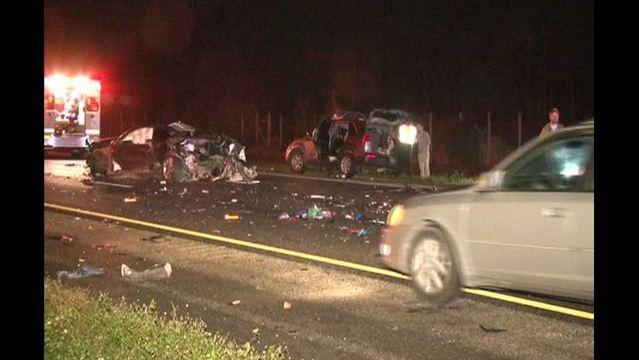 Fatal Crash Involving Car Fire Closes All Lanes Of I 95