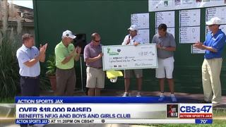 Action Sports Jax Dream 18 golf tournament donates $18K to charity