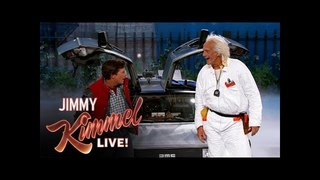 WATCH: Marty McFly, Doc Brown crash