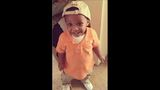 Jacksonville toddler killed in drive-by laid to rest in white coffin, tuxedo