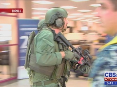 Active shooter drill at Navy Exchange Complex