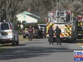 Body found at burning home