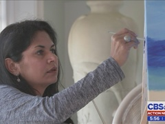 Local group of military, Sept. 11 widows use painting to cope with loss