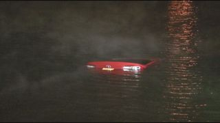 St. Johns woman saved from sinking car, rescuer recount frightening moments