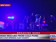 Bystanders pull woman out of Green Cove Springs retention pond