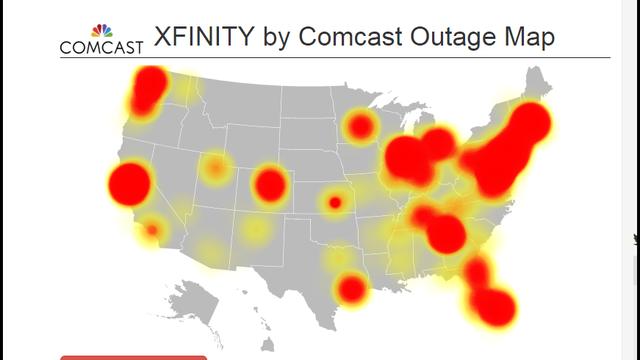 Comcast Tv And Internet >> Comcast outage reported across country | WJAX-TV