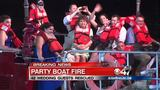 Fire onboard River Cruise Boat