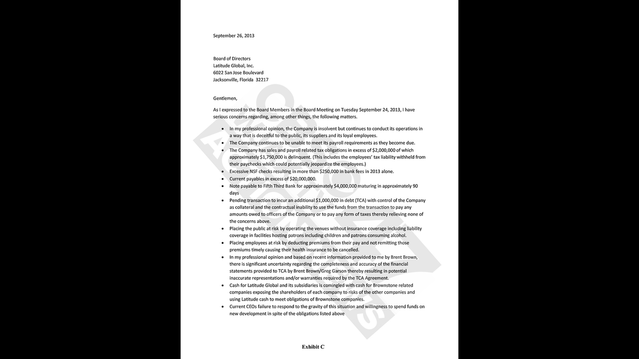 internal memo cfo resignation Announce resignation of company executive use this letter when your business is announcing that a company executive has resigned include any pertinent details, and customize the letter.