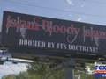 St. Augustine residents petition to remove 'Islam Bloody Islam' billboard