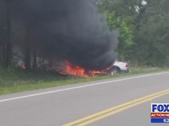 Truck driver saves grandma from burning pickup in Bradford County