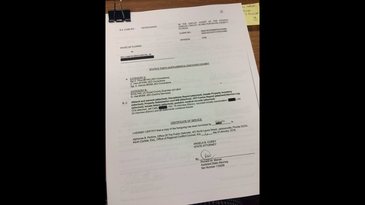 Documents released in Lonzie Barton case