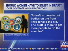Women to register for military selective service debated on Capitol Hill