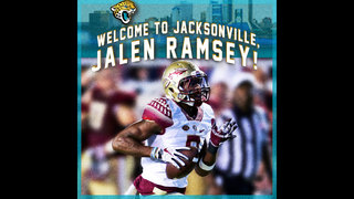 Jacksonville Jaguars select Jalen Ramsey as first-round pick in 2016 NFL Draft