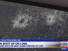 Someone allegedly shot high-powered BB gun at driver on I-295