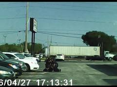 New dashcam video shows JSO officer allegedly striking handcuffed woman
