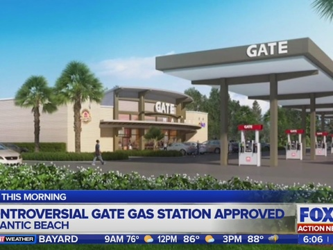 Committee approved Gate gas station in Atlantic Beach | WJAX-TV