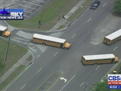 Action News Jax Investigates: Another bus blocks traffic with students on board
