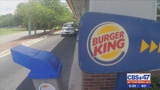 Customer tackles suspected thief at Westside Burger King, hopes to be hired