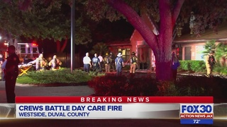 Westside day care damaged by fire