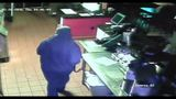 Brucci's in Fruit Cove was burglarized Wednesday around midnight and the thief was caught on camera.