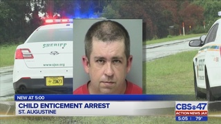 Brunswick man arrested trying to meet up with minor for sex