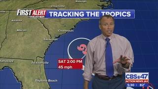 Disturbance near Bahamas monitored by First Alert Weather Team