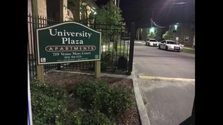 Man injured in shooting at University Plaza