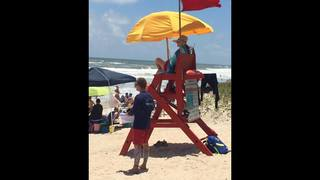 Lifeguards in Duval, St. Johns counties help several swimmers in distress