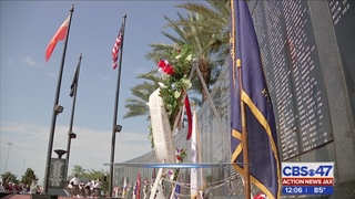 5 names added to Veterans Memorial Wall in Jacksonville