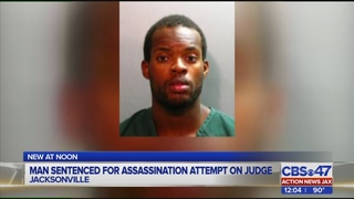 Man sentenced to over 300 years for attempted murder of Jacksonville judge