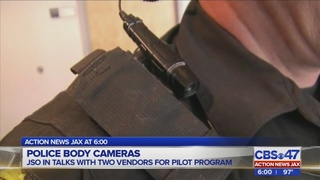 JSO could soon implement body-camera pilot program