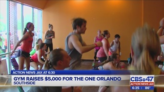 Jacksonville gym raises money for Orlando mass shooting victims, families